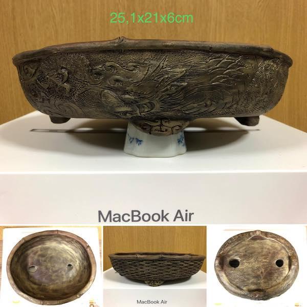 Chậu bonsai thủ công PLD594