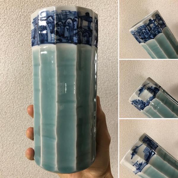 Bình hoa sứ đông thanh PLD553