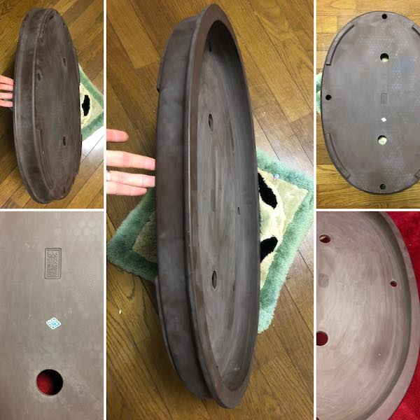 Chậu oval cỡ đại PLD539
