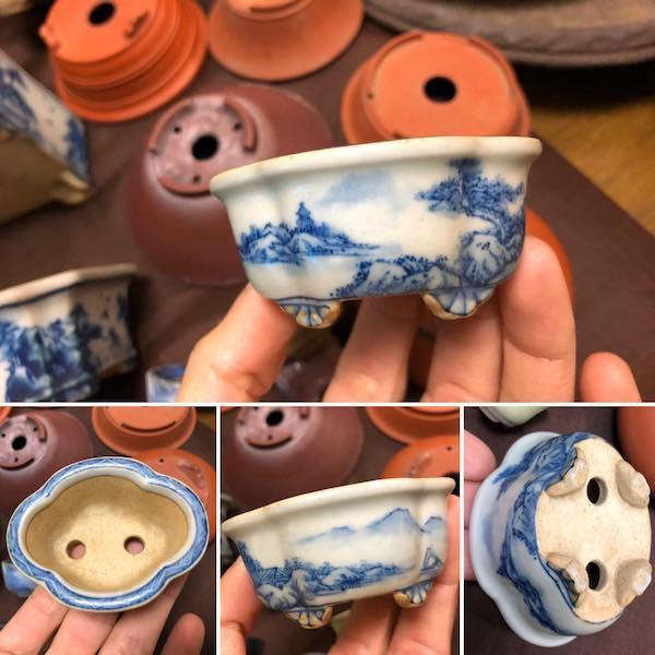 Chậu mini bonsai PLD454