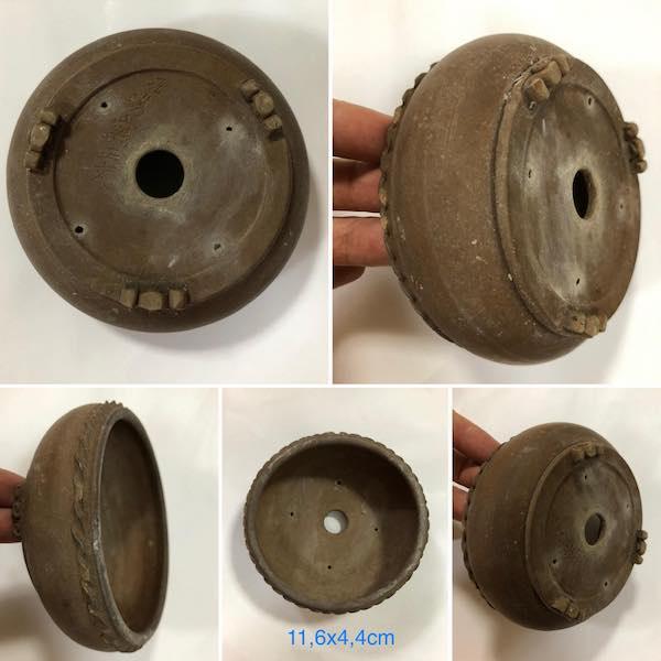 Chậu mini bonsai tròn PLD411
