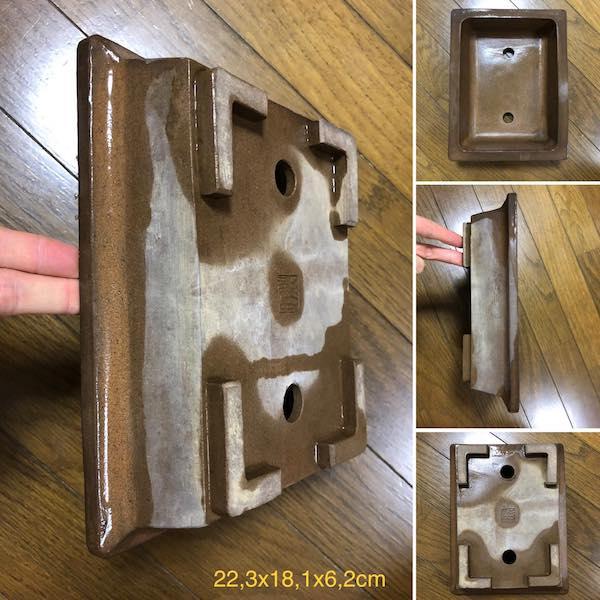 Chậu bonsai chữ nhật PLD379