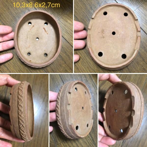 Chậu bonsai dáng Oval PLD339