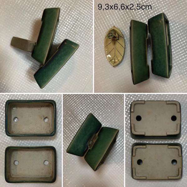 Cặp chậu mini chữ nhật PLD351
