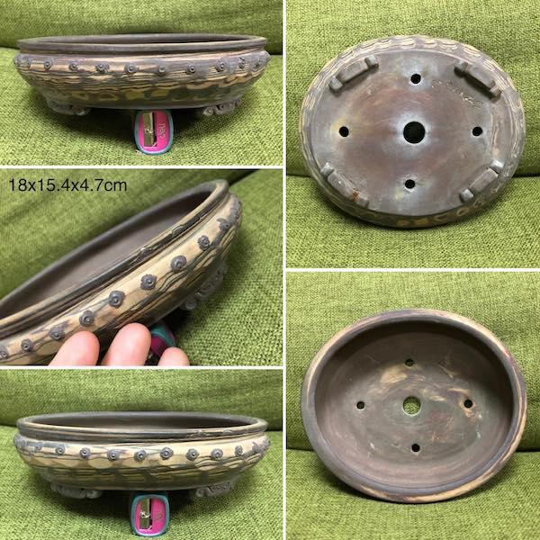 Chậu mini oval bi PLD960