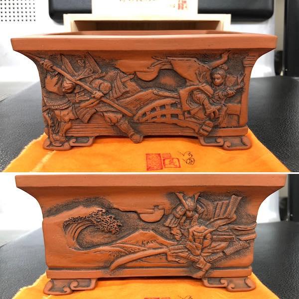 Chậu điêu khắc tích: Benkei vs Ushikawamaru