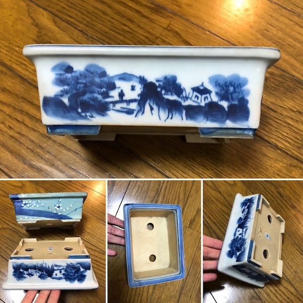 Chậu bonsai mini Nhật Bản P279