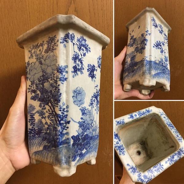 Chậu bonsai Nhật Bản P277