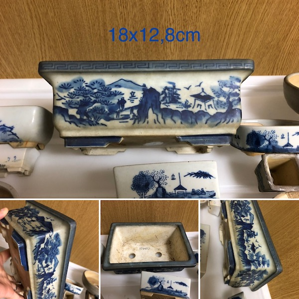 Chậu mini bonsai Nhật Bản PLD808