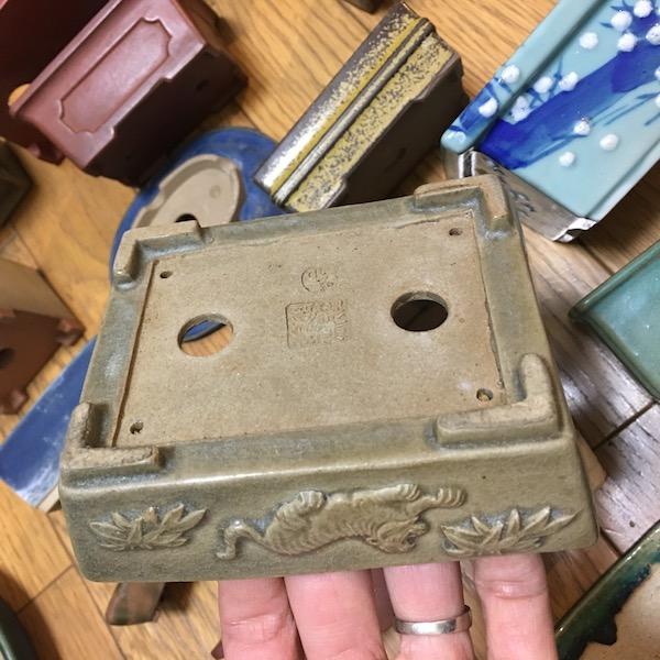 Chậu bonsai thủ công Nhật Bản PLD809
