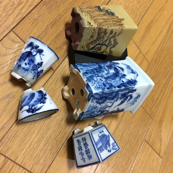 Chậu bonsai thủ công Nhật Bản PLD775