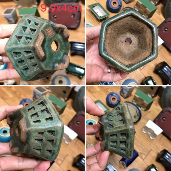 Chậu điêu khắc mini bonsai PLD747