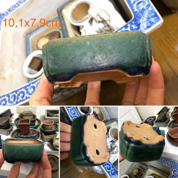 Chậu mini bonsai chữ nhật PLD743