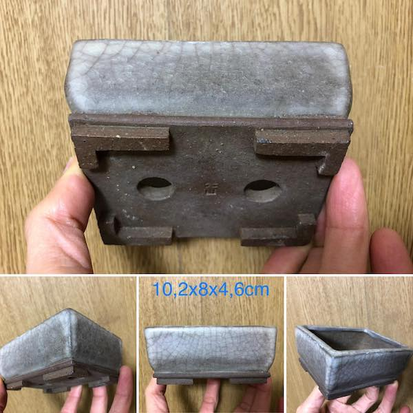 Chậu bonsai mini chữ nhật PLD711