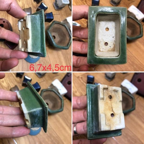 Chậu bonsai mini chữ nhật PLD729
