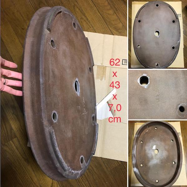 Chậu Oval cỡ đại PLD600