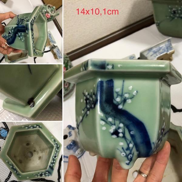 Chậu đông thanh mini lục giác PLD603