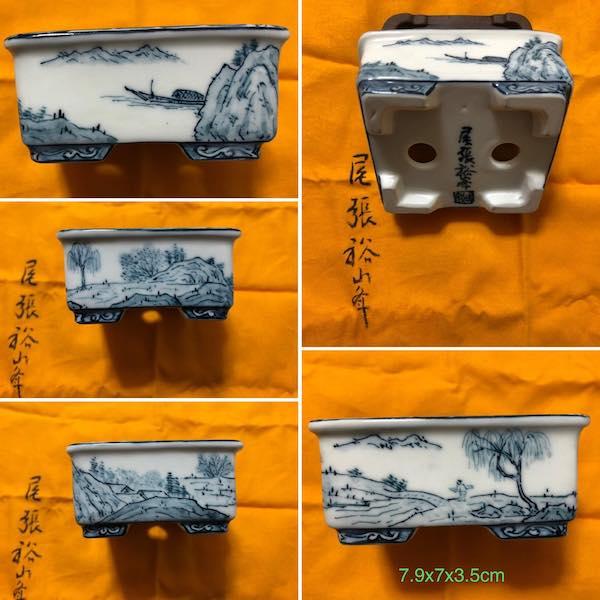 Chậu vẽ tay yuho PLD892
