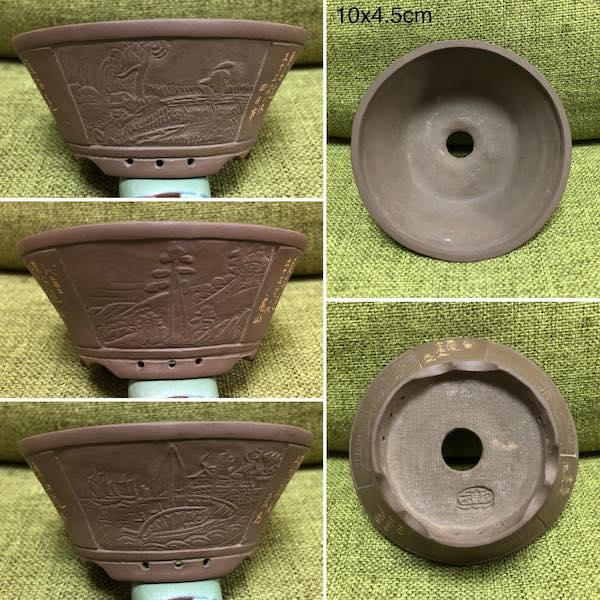 Chậu điêu khắc dáng tròn PLD927