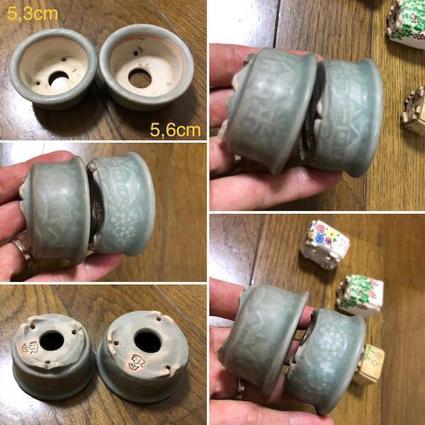 Bộ hai chậu mini dáng tròn PLD152
