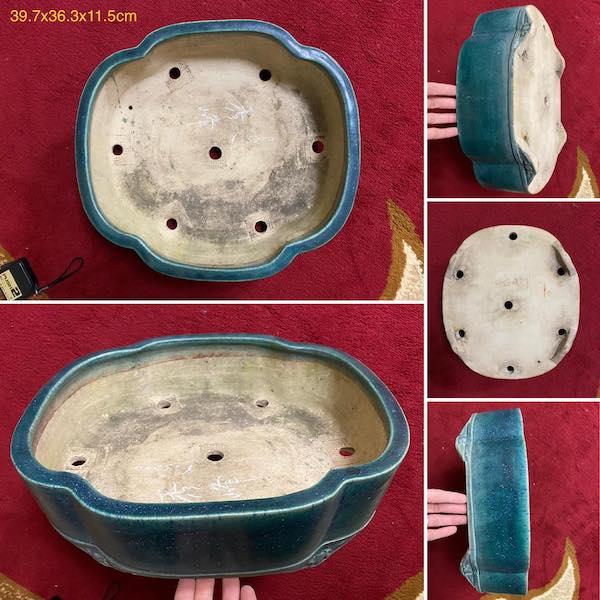 Chậu bonsai dáng Oval PLD67